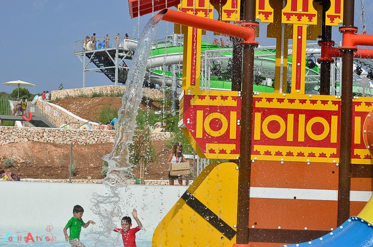 Visitamos El Parque Acuático Splash Sur Menorca Familias Activas