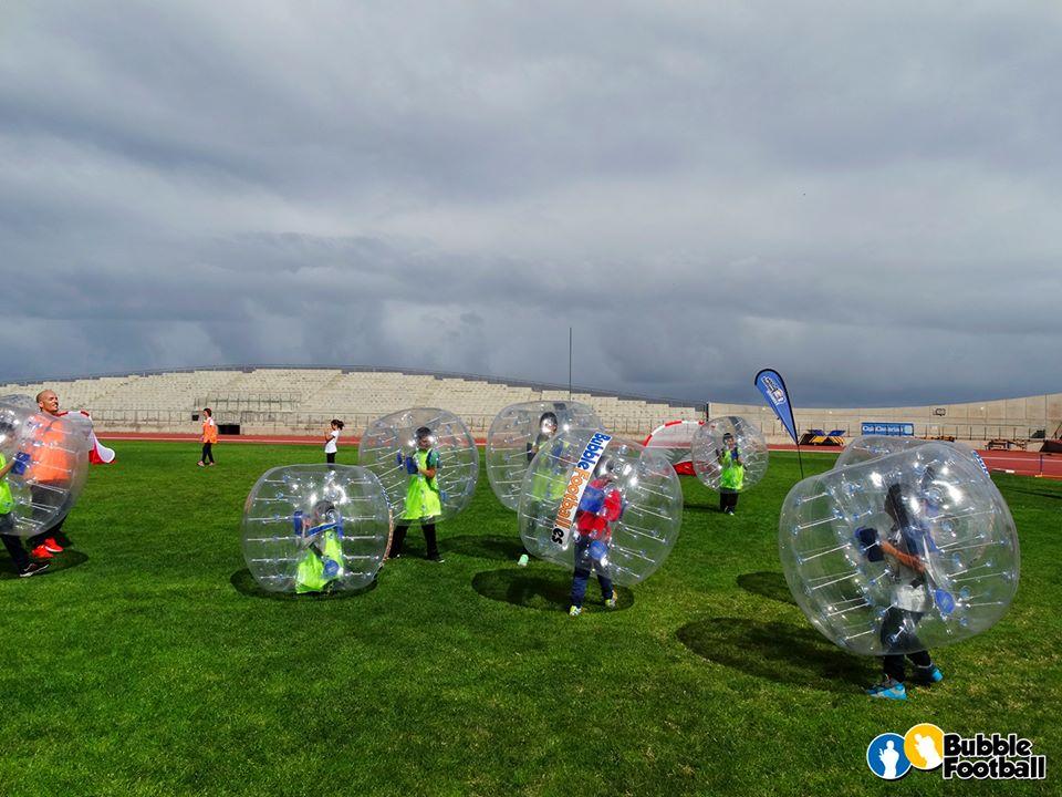 BubbleFootball FamiliasActivas