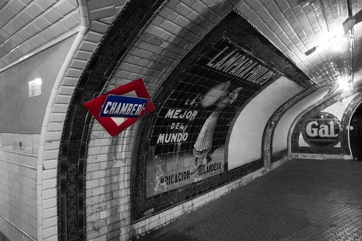 Visita la estación fantasma del metro de Madrid