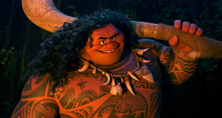Maui y sus imponentes tatuajes