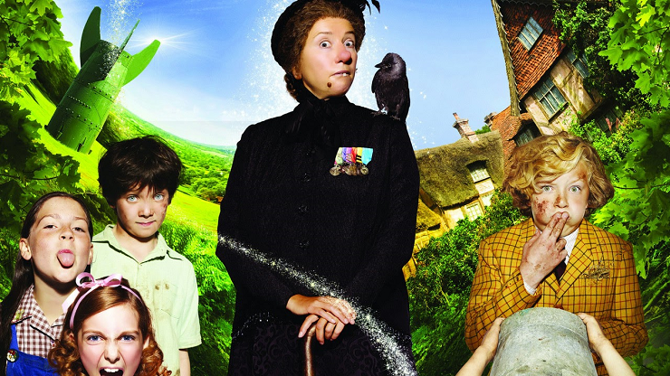 Emma Thompson interpreta a Nanny McPhee