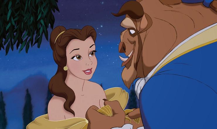"""El amor siempre está en el interior-""""La Bella y la Bestia"""" (1991)"""