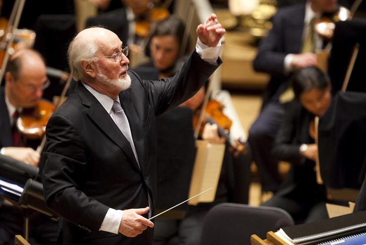 El maestro John Williams autor de la música de las tres primeras películas de Harry Potter