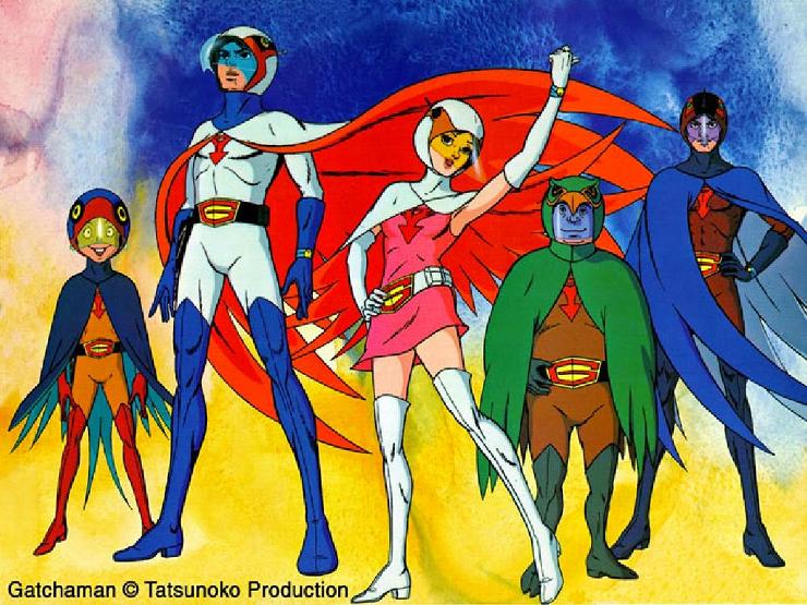 Comango G, el precedente en anime de los Power Rangers.