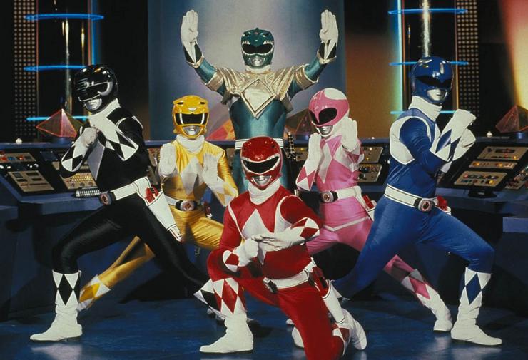 La serie Power Rangers fue uno de los formatos emblemáticos de la televisión de los 90.