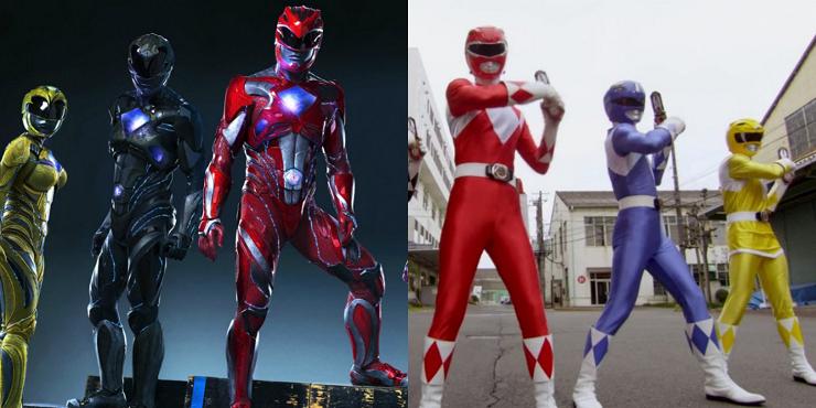 La nueva versión de los Power Rangers se aprovecha de los grandes avances en efectos especiales.