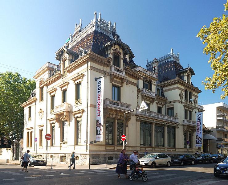 El Instituto Lumiére en Lyon alberga la casa museo y la cinemateca.