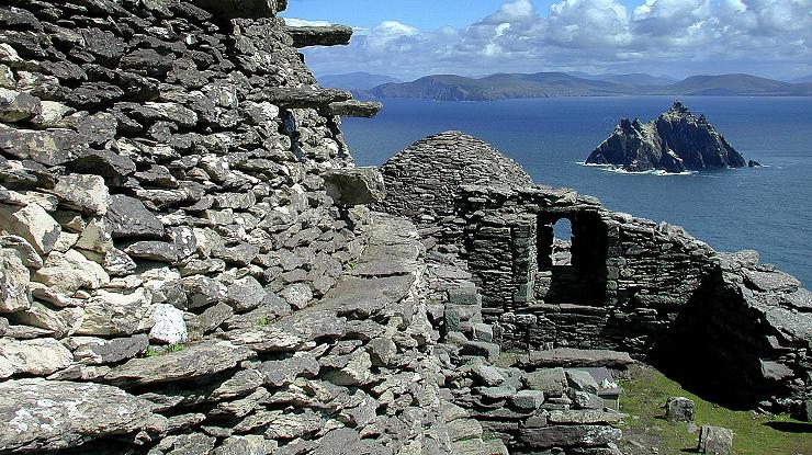 Restos arqueológicos del monasterio asceta del siglo VI