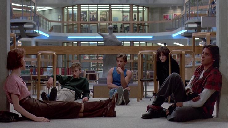 """""""El club de los cinco"""" una de esas películas que marcan a toda una generación."""