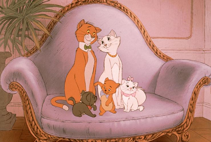 """""""Los Aristogatos"""" uno de los clásicos Disney con más ritmo."""