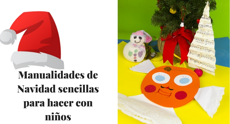 Manualidades Navidenas Para Hacer Con Ninos Familias Activas - Manualidades-sencillas-navidad