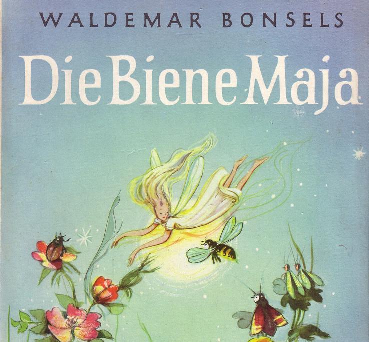 El autor alemán Waldemar Bonsels fue el padre de la Abeja Maya en 1912.