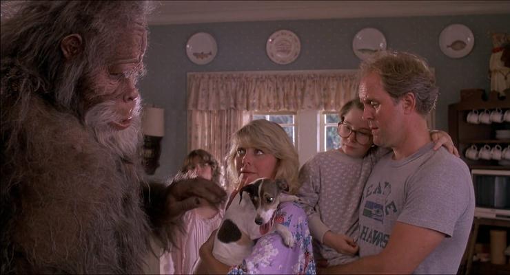 """""""Bigfoot y los Henderson"""", estrenada en 1987, mostraba a un sasquatch muy familiar."""