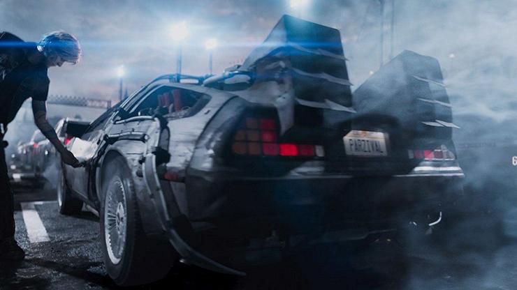 """El DeLorean de """"Regreso al futuro"""" es una de las referencias más celebradas."""