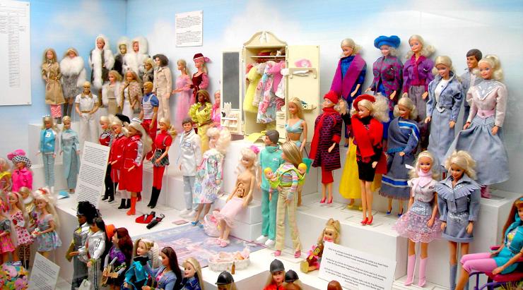 La exposición permanente de Barbie hará las delicias de sus seguidores.