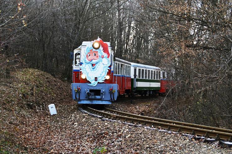El Tren de los Niños en Navidad.