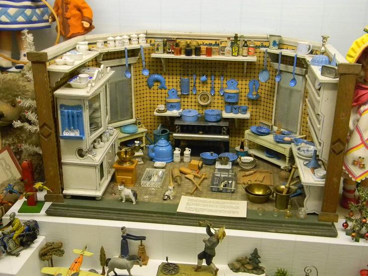 Las casas de muñecas de este museo atraen a numerosos visitantes de todo el mundo.