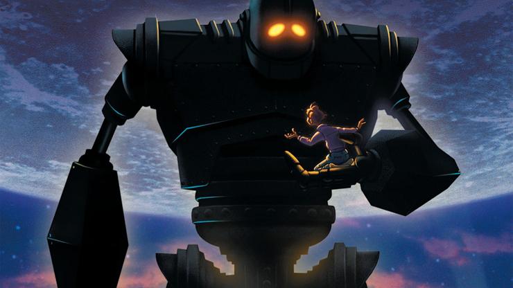 """""""El gigante de hierro"""" (1999) es considerada una película de culto en el género de animación."""