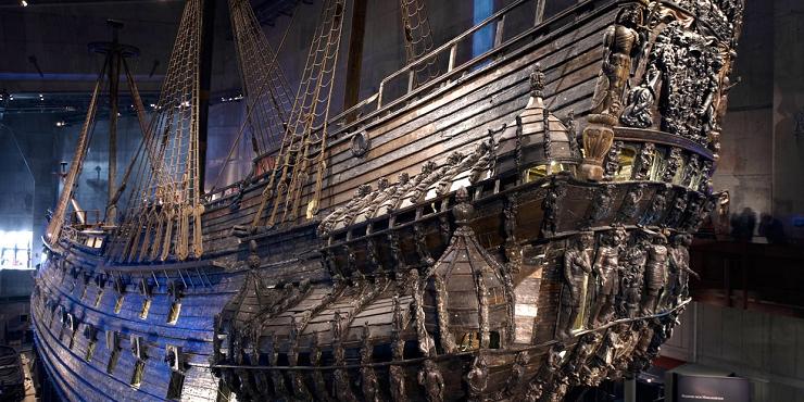 Visitar el museo es viajar a la Suecia del siglo XVII