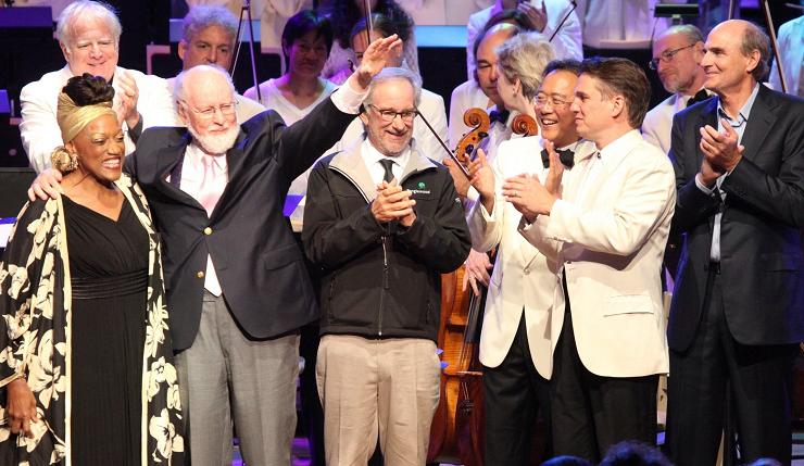 En el año 2012 John Williams celebró su 80 cumpleaños rodeado de sus mejores amigos.