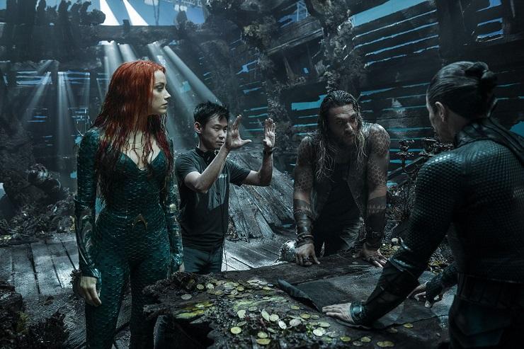 James Wan, director muy conocido por la serie de películas de la familia Warren, explora el universo de Aquaman.