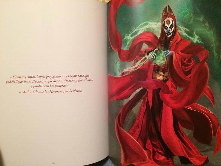 Nada menos que 50 artistas aportan a este libro sus magníficas ilustraciones.