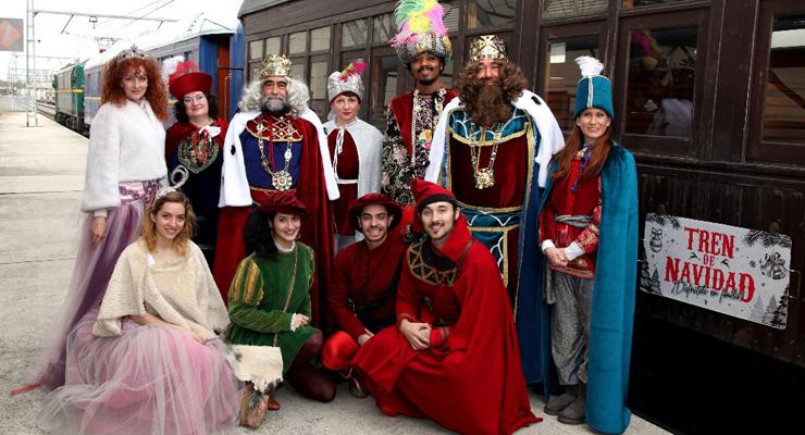 el tren de la navidad en madrid