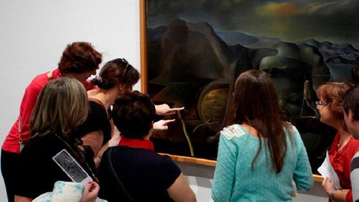 museo reina sofia familias activas invidentes
