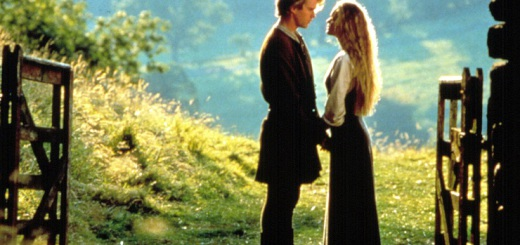 THE PRINCESS BRIDE, Cary Elwes, Robin Wright, 1987, TM and Copyright (c) 20th Century-Fox Film Corp.
