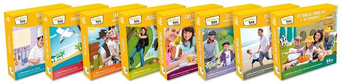 Cajas de experiencias para familias. Regalos Originales. Family's Box