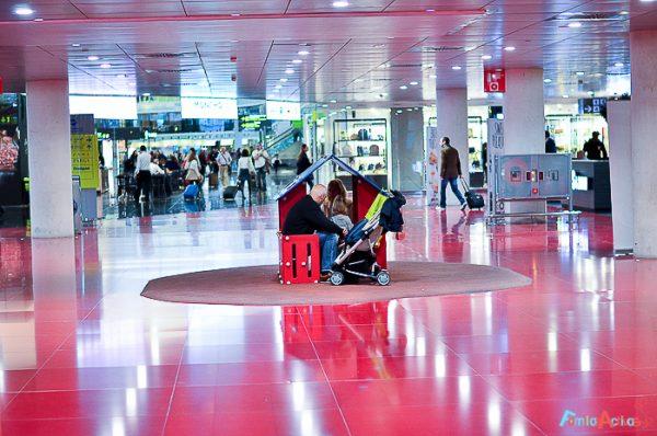 El Aeropuerto de Barcelona-El Prat, un buen lugar para las familias