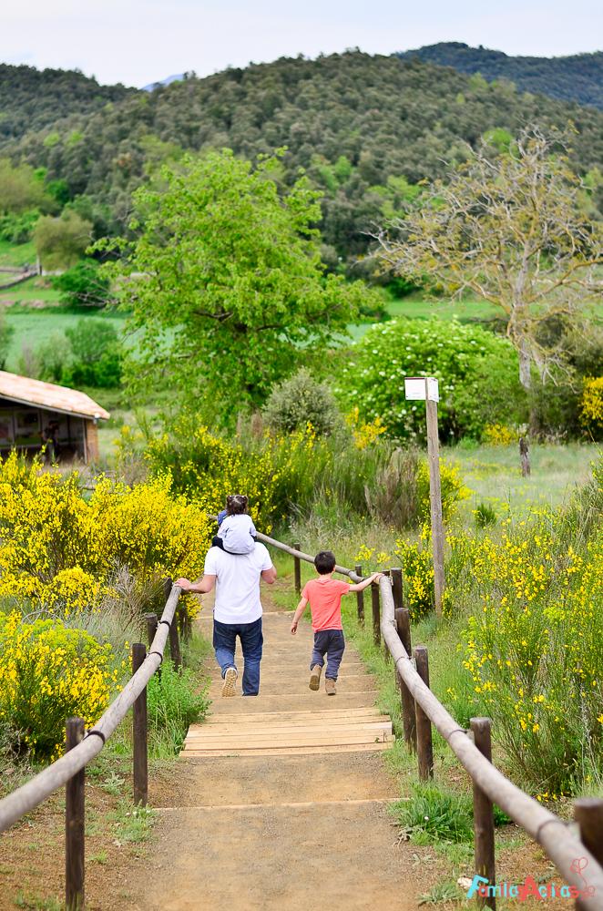 Camping para familias La Vall de Camprodon-Familias Activas-50