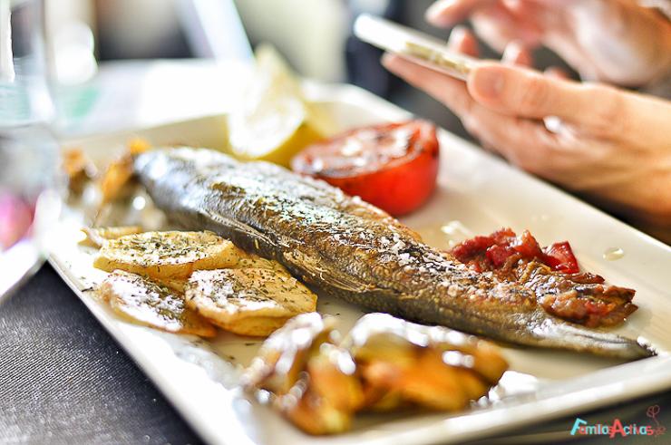Capafonts gastronomia Hotel Restaurante Davall Plaça Muntanyes de Prades Destino turismo familiar