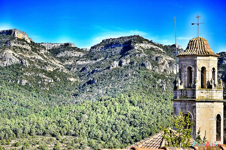 Vistas desde la terraza del albergue Somianatura_Capafonts-2