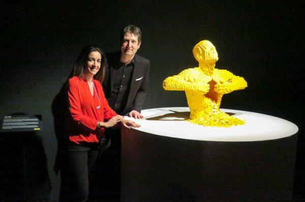 Recomendamos visitar en familia la exposición The Art of the Brick de Nathan Sawaya en Barcelona
