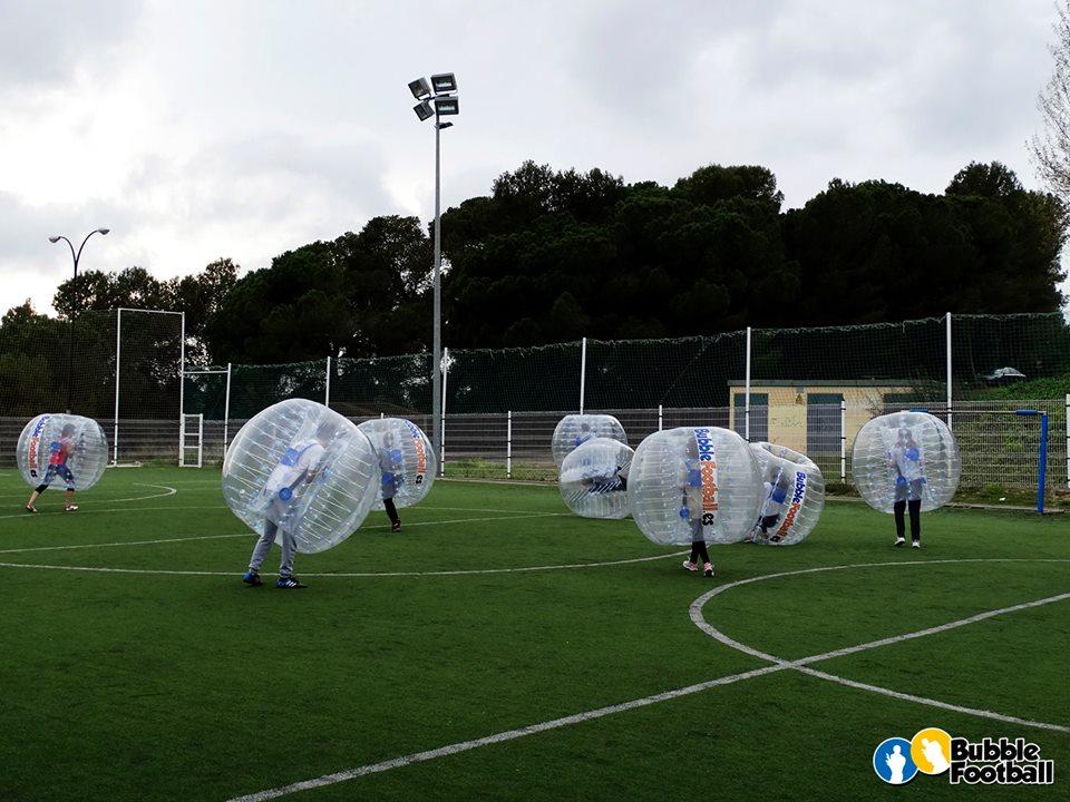 Bubble FootballFamiliasActivas