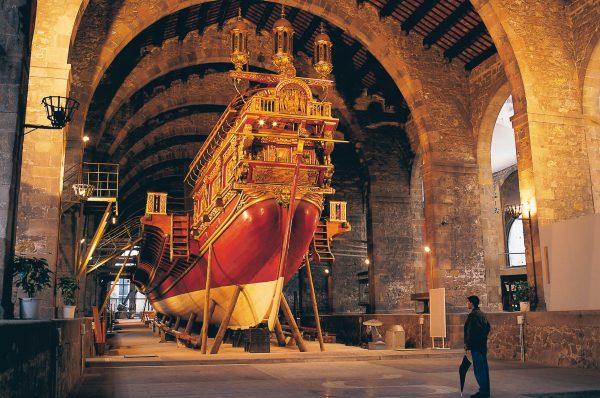 Para los más intrépidos actividades en el Museo Marítimo