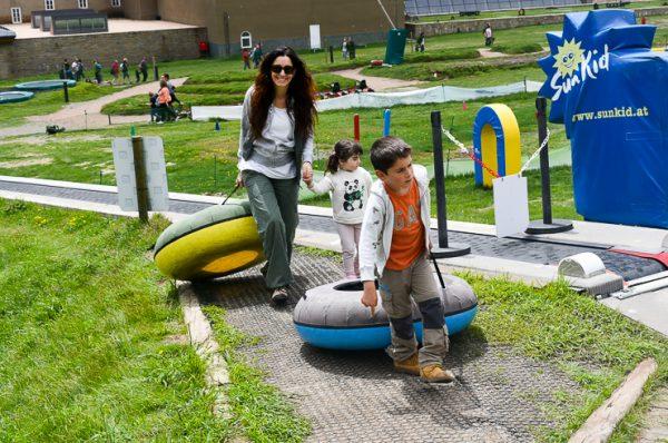 Disfrutando en familia en Vall de Núria #lavalldelsmenuts