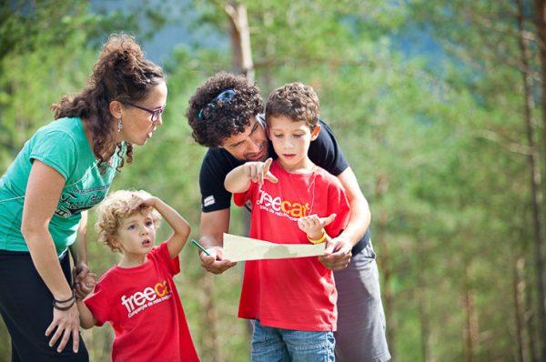 Vacaciones en familia en las casas de la Fundación Pere Tarrés