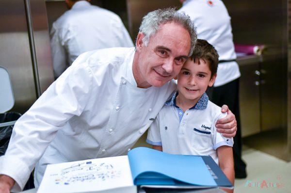 Te cuento en la cocina con Ferran Adrià, planes con niños