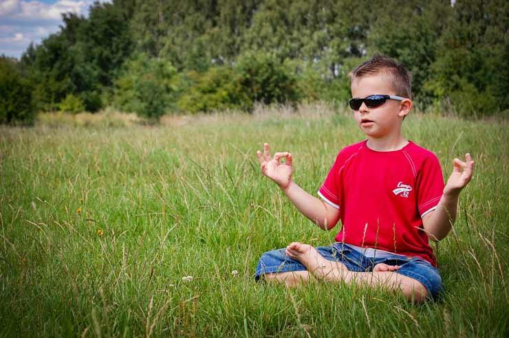 Beneficios del yoga en los niños