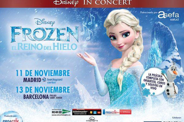¿Quieres ir a ver Frozen in Concert? Sorteamos 4 entradas gracias a Duracell