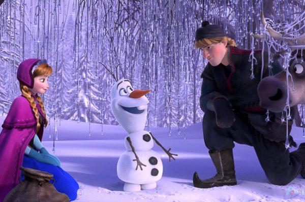 Así fue el concierto de Frozen gracias a Duracell