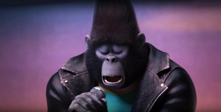 El gorila Johnny sorprenderá a todos por su gran voz y bondad