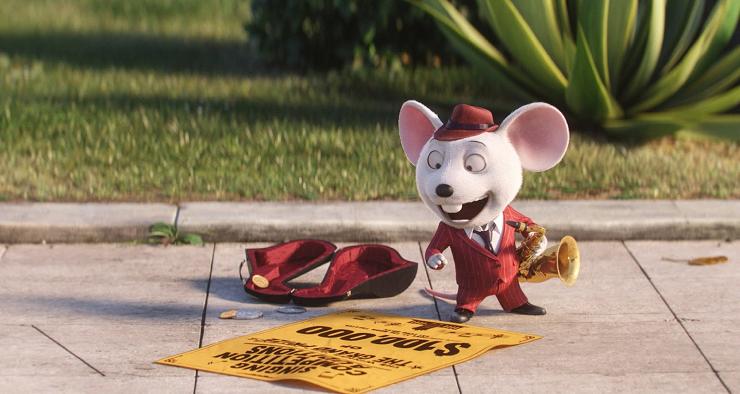 El ratón Mike tiene una voz que emula al mismísimo Frank Sinatra