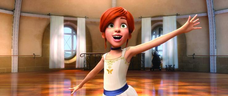 Felicia descubrirá que convertirse en bailarina no es tan fácil como parece