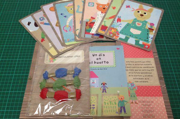 Leer y jugar en familia: Coser y contar