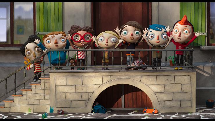 Calabacín y sus grandes amigos del orfanato