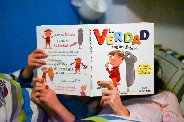 """Leer y jugar en familia: """"La verdad según Arturo"""""""