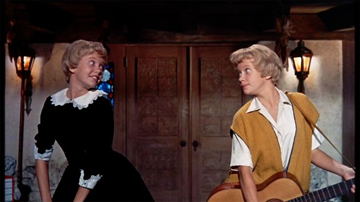 """La inolvidable Hayley Mills por partida doble-""""Tú a Bostón y yo a California"""" (1961)"""